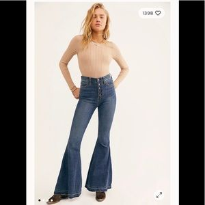 Free People Irreplaceable Jeans